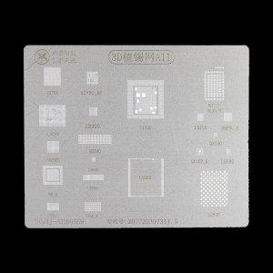 A11 BGA Reballing Stencil 3D Planting Stencil Net Fixture IC For A11