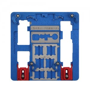 MJ A21+ Motherboard PCB Holder for iPhone 5S to iPhone XR A7 A8 A9 A10 Logic Board Chip Fixture
