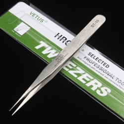 Vetus Precision Stainless Steel Tweezers ST-10