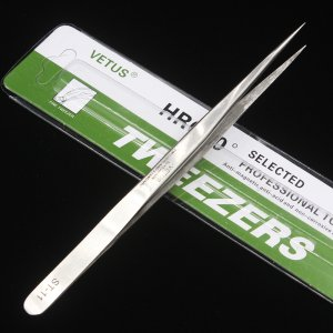 Vetus Precision Stainless Steel Tweezers ST-11