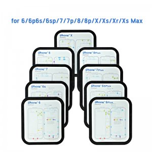 Magnetic Screw Keeper Chart Mat With Rubber Ring for iPhone 6-XS Max