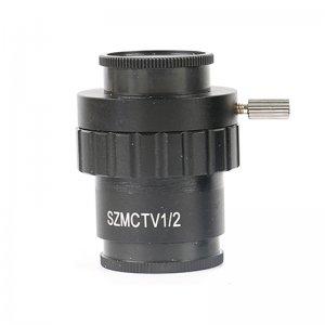 SZMCTV Stereo Microscope Adapter Auxiliary Objective C Mount Lens HDMI VGA USB Video Camera For Trinocular Microscope