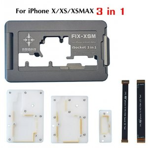 ISOCKET 3 in 1 Motherboard Test Fixture for iPhone X/XS/XS Max Repair