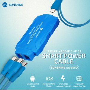 SS-905D Smart Power Cable for Android Models Applicable iPhone Models
