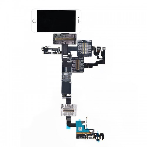 QianLi PCBA Front Camera/Rear Camera/Dock Connector/Touch Testing Cable for iPhone 6