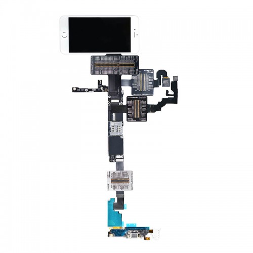 QianLi PCBA Front Camera/Rear Camera/Dock Connector/Touch Testing Cable for iPhone 6 Plus