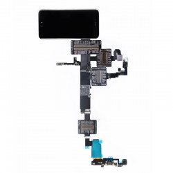 QianLi PCBA Front Camera/Rear Camera/Dock Connector/Touch Testing Cable for iPhone 6S Plus