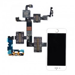 QianLi PCBA Front Camera/Rear Camera/Dock Connector/Touch Testing Cable for iPhone 7