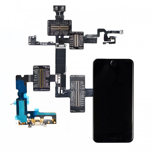 QianLi PCBA Front Camera/Rear Camera/Dock Connector/Touch Testing Cable for iPhone 7 Plus