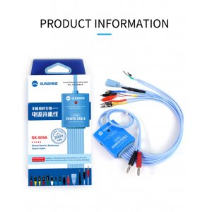 Sunshine SS-905A Power Cable for iP5S to 11 Pro MAx / SAM Series