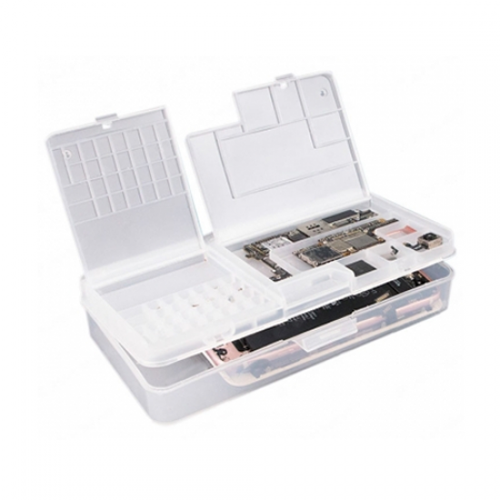 Multi-function Storage Box for Mobile Phone Mainboard IC and Small Parts Repair