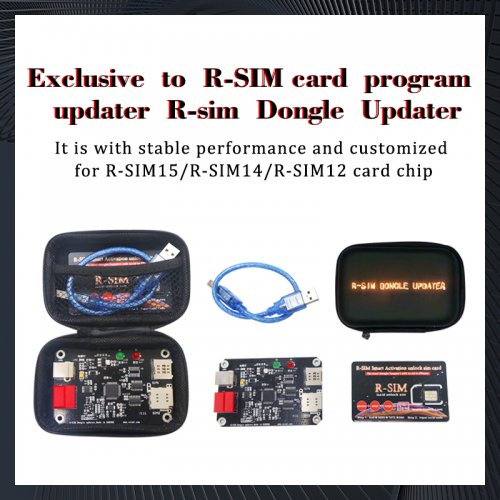 Exclusive to R-SIM card program updater For 12+|14|15 R-sim Dongle Updater