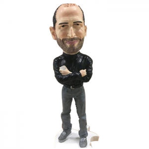 Apple Adult Version Steve Jobs Figure Model Dolls Toys