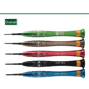 BST-668S 5pcs Screwdrivers(T5/T6/PH00/PH000/0.8)