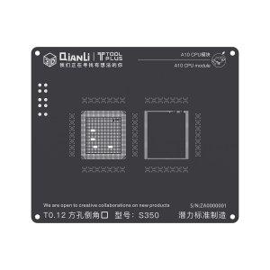 A10 CPU QianLi ToolPlus 3D iBlack CPU Module BGA Reballing Stencil
