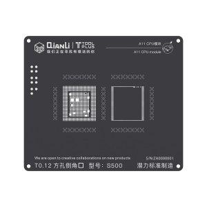 A11 CPU QianLi ToolPlus 3D iBlack CPU Module BGA Reballing Stencil