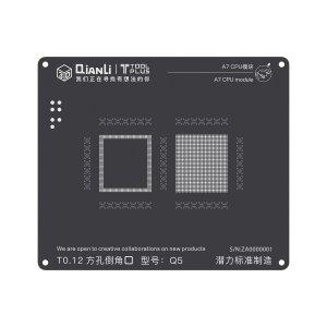 A7 CPU QianLi ToolPlus 3D iBlack CPU Module BGA Reballing Stencil