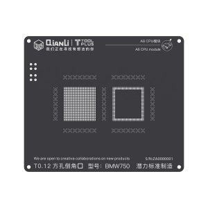 A8 CPU QianLi ToolPlus 3D iBlack CPU Module BGA Reballing Stencil