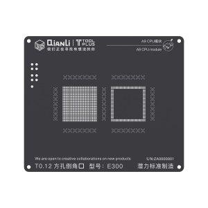 A9 CPU QianLi ToolPlus 3D iBlack CPU Module BGA Reballing Stencil