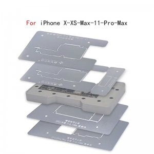 6 in1 Middle Frame Reballing Platform for iPhone X/XS/XSMAX /11/11Pro/11ProMax
