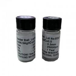 Soldering Ball Lead Solder Ball 02 0.25 0.3 0.35 0.4 0.45 0.5 0.55 0.6 0.65 0.76mm