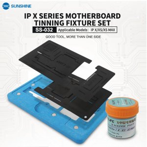 For iPhone X  XS XS Max Motherboard Tinning Fixture Set