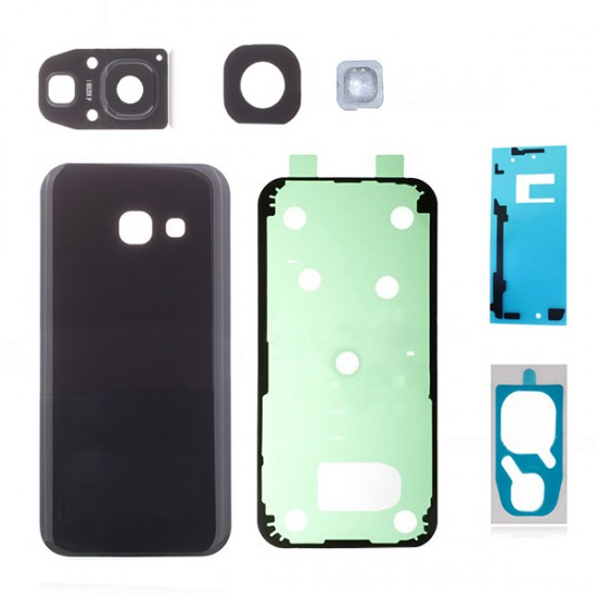 For Samsung Galaxy A5 (2017) A520 Back Glass Assembly Black