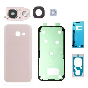 For Samsung Galaxy A5 (2017) A520 Back Glass Assembly Pink