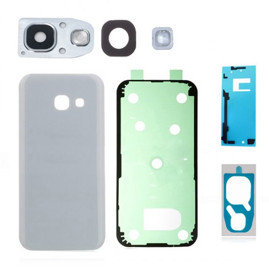 For Samsung Galaxy A5 (2017) A520 Back Glass Assembly White