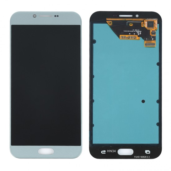 Samsung Galaxy A8 2016 A810F LCD Screen Replacement Blue OEM