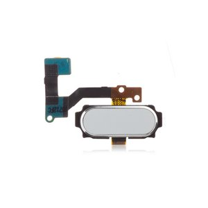 Samsung Galaxy A8 Fingerprint Sensor Flex Cable White Ori
