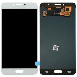 Samsung Galaxy C7 Pro LCD with Digitizer Assembly White Ori