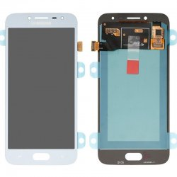 Samsung Galaxy J2 Pro (2018) J250 LCD with Digitizer Assembly  Blue OEM