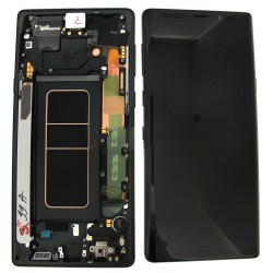 Samsung Galaxy Note 9 N960F LCD Screen Replacement With Frame Black Ori