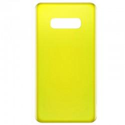 Samsung Galaxy S10e Battery Door Yellow OEM
