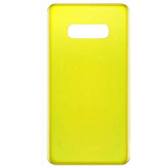 Samsung Galaxy S10e Battery Door Yellow OEM