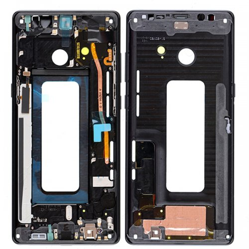 Samsung Galaxy Note 8 Front Housing Black Ori