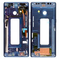 Samsung Galaxy Note 8 Front Housing Blue Ori