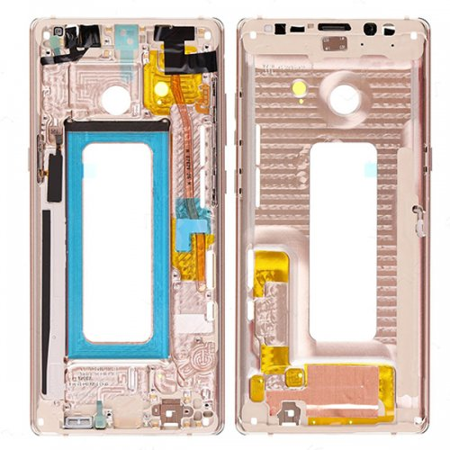 Samsung Galaxy Note 8 Front Housing Gold Ori