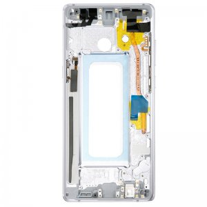 Samsung Galaxy Note 8 Front Housing Silver Ori
