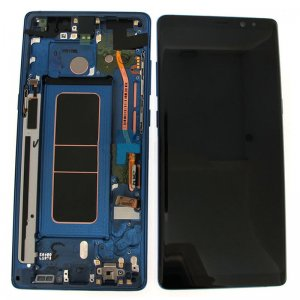 Samsung Galaxy Note 8 N950F LCD Screen Replacement With Frame Blue Ori
