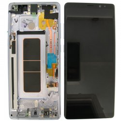Samsung Galaxy Note 8 N950F LCD Screen Replacement With Frame Purple  Ori
