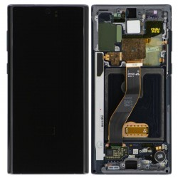 For Samsung Galaxy  Note 10  LCD with Frame Assembly Black