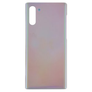 For Samsung Galaxy Note 10 Back Cover Silver