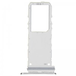 For Samsung Galaxy Note 10 Sim Card Tray White Single Card  Version