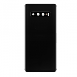 For Samsung Galaxy S10 Plus Back Cover with Camera Lens Black