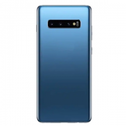 For Samsung Galaxy S10 Plus Back Cover with Camera Lens Blue