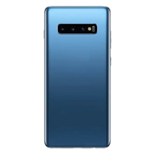 For Samsung Galaxy S10 Back Cover with Camera Lens Blue