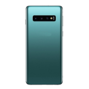 For Samsung Galaxy S10 Plus Back Cover with Camera Lens Green