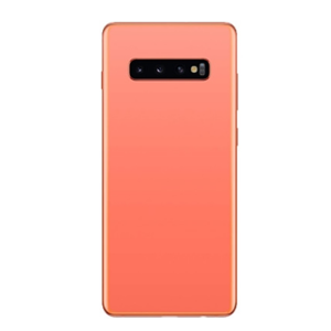 For Samsung Galaxy S10 Plus Back Cover with Camera Lens Pink